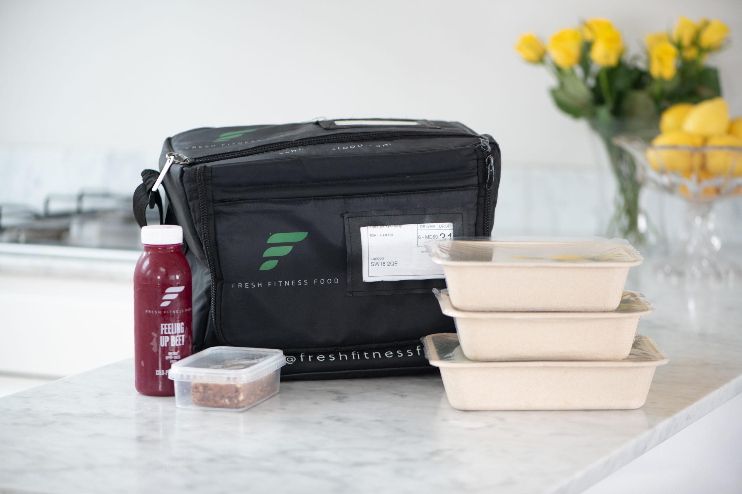 Fresh Fitness Food Bag and Food easy meal plan